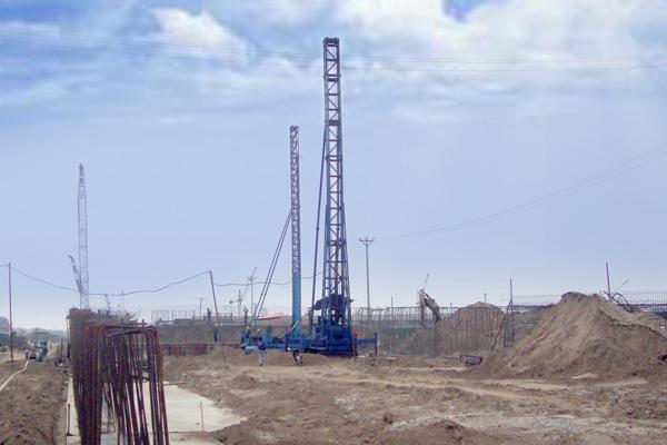 Thi công công trình Bắc Hồng